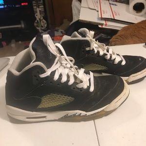 Rare Air Jordan 5 retro Oreo size 6 youth shoes